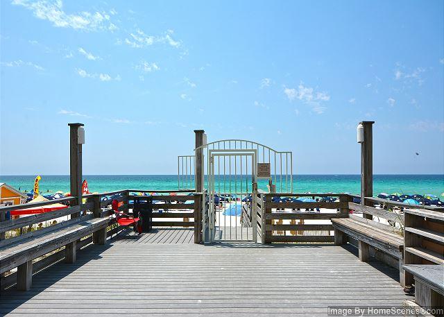Beachside Two gated beach access