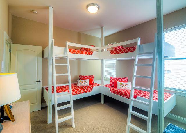 Second Floor Bunk Room!