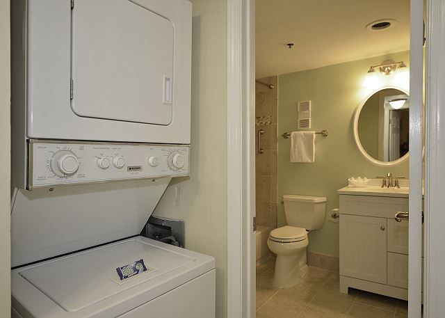 Laundry Area and Guest Bath.