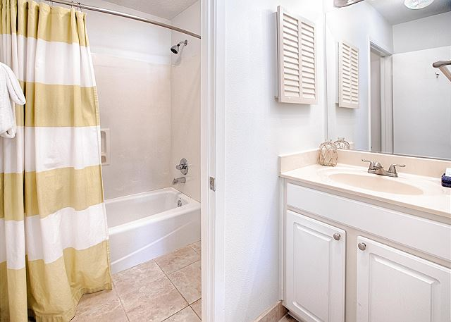 Private Full Bath With Tub/Shower Combo