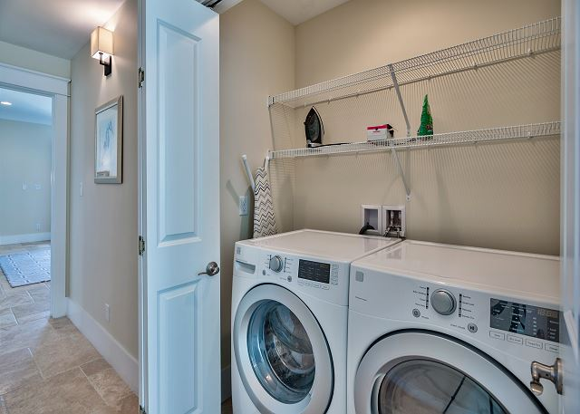 Third Floor High Efficiency Washer and Dryer!