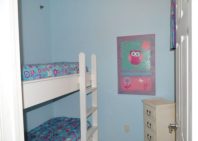 Fun bunk room for the kids