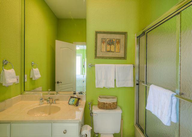 Second Floor Bathroom On Suite!