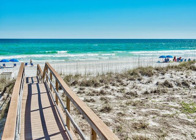 Private Beach Access!