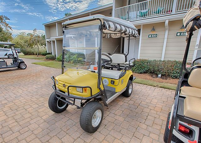 Golf Cart Included For Your Enjoyment