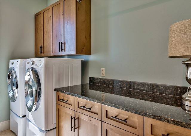 First Floor Laundry Room!