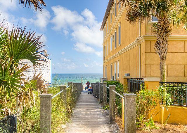 Short walk Across Street to Beach Access!