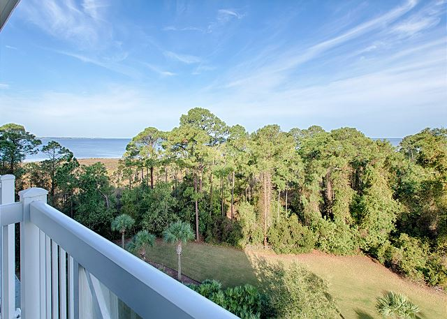 Balcony View of Choctawhatchee Bay