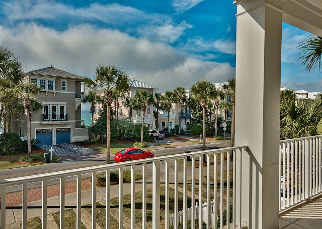 Second Floor Balcony Across from Gulf