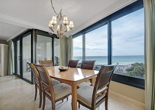 Formal Dining Room With A View