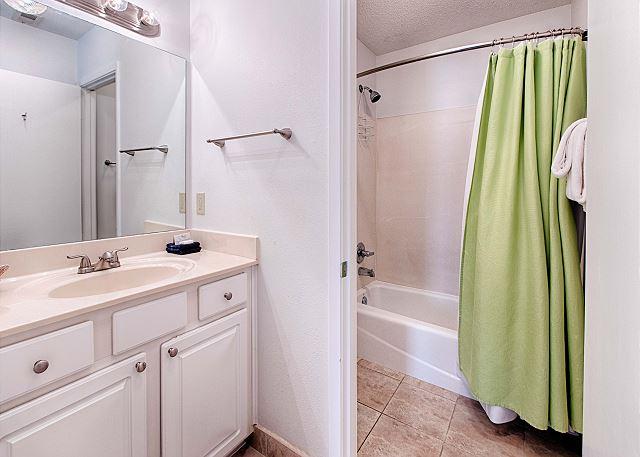 Spacious Private Bathroom Off Bedroom