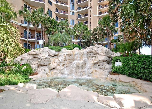 Community Fountain Area