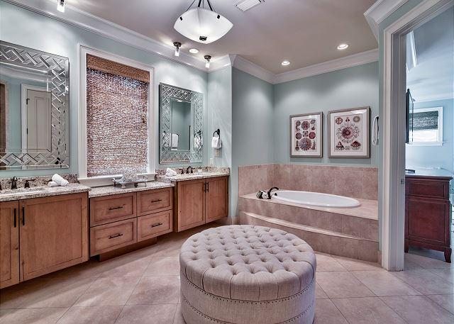 Second Floor Master Bath!