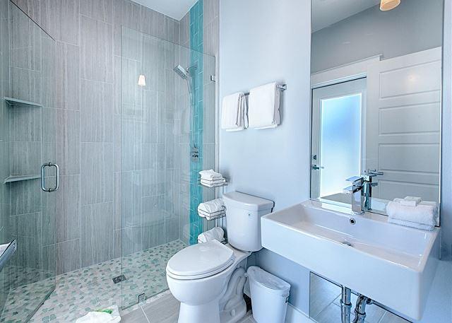 First Floor Bath with Wheelchair Friendly Walk-In Shower