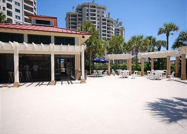 Westwinds Tiki Bar Area