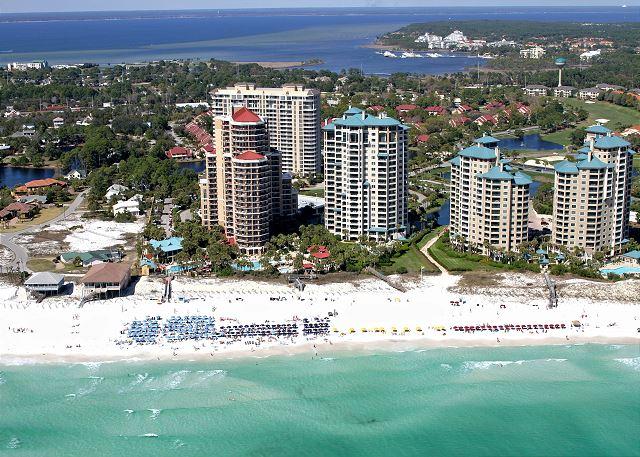 Beachside at Sandestin Aerial View