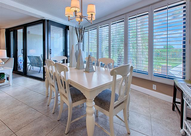 Formal Dining Area With Six Chairs