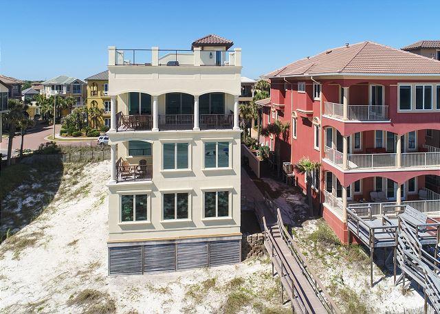 Beachside Ariel View!
