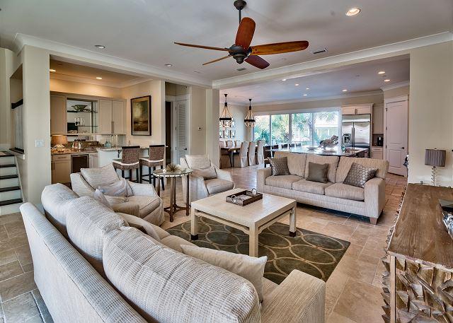 Second Floor Living Area, Wet Bar, Kitchen, Dining!