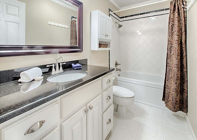 Recently Updated Bath with Tub/Shower Combo
