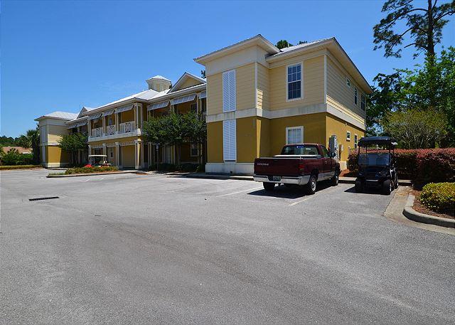 Exterior View / Parking Area