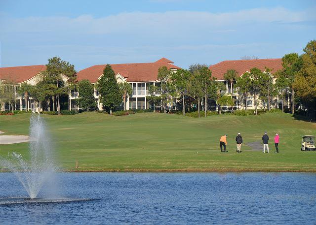 Golf Course & Lake view