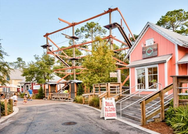 Ropes Course in the Village of Baytowne Wharf