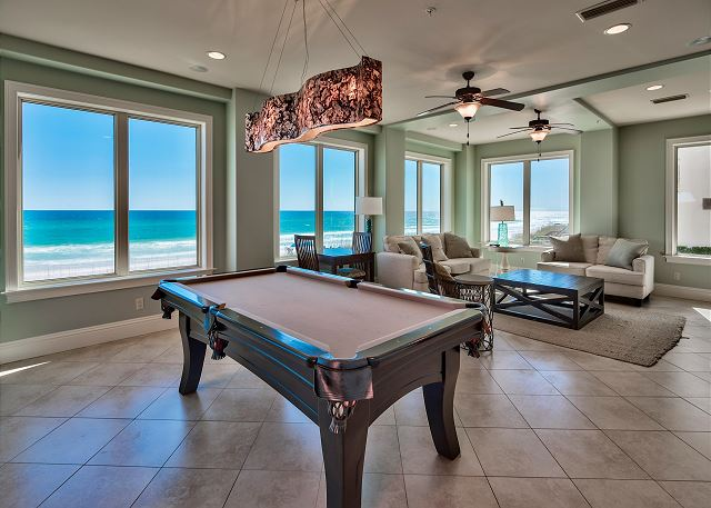 First Floor Pool Table and Family Room!