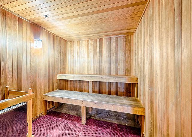Sauna at Ariel Dunes