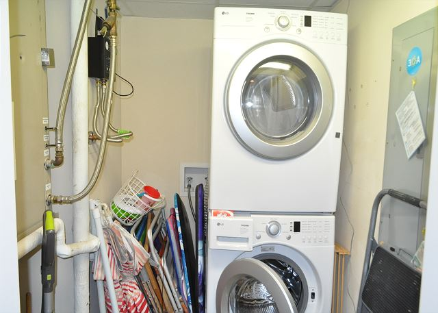 Stacking Washer/Dryer Combo