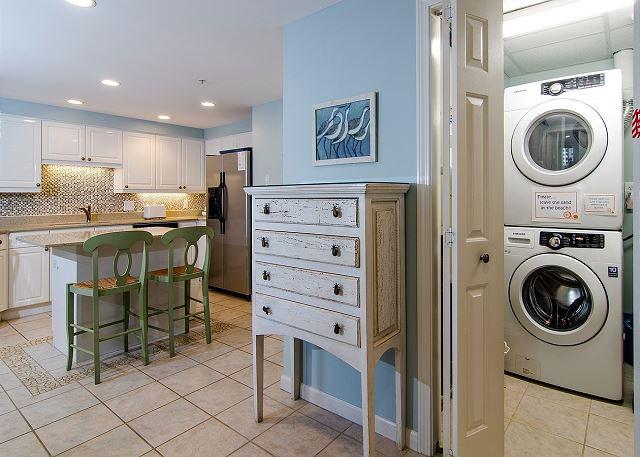 Laundry & Kitchen Areas