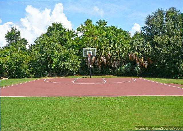 Seascape Basket ball Court.