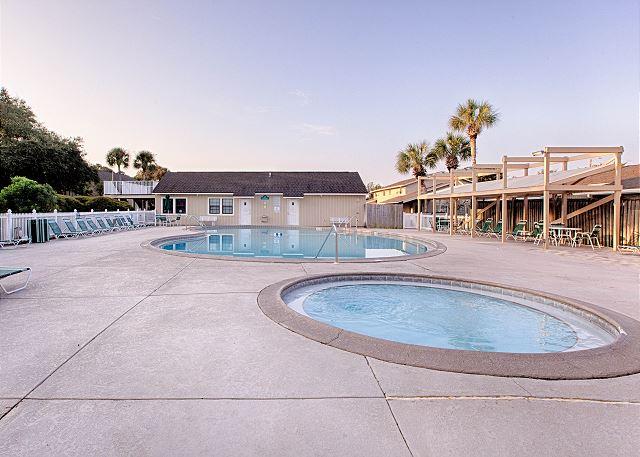 Ariel Dunes Pool Area