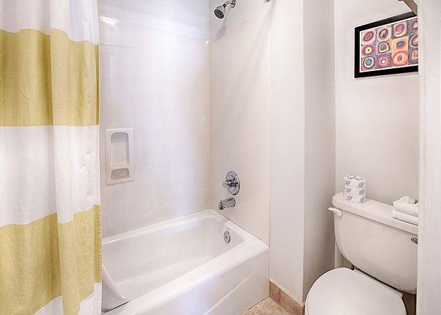Spacious Bathroom Off Master Bedroom