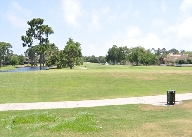South golf course view