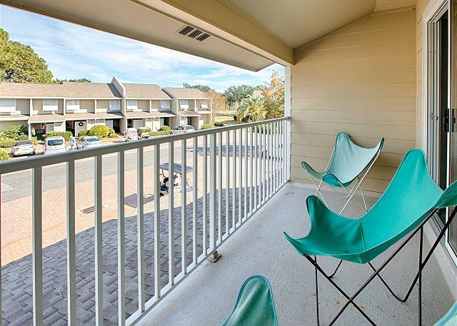 Balcony View Off Master Bedroom