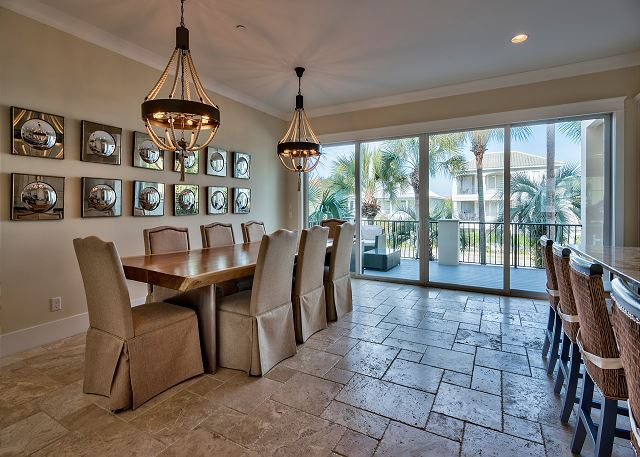 Dining Room with Outdoor Patio!