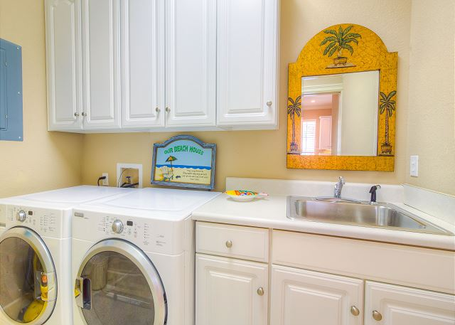 First Floor Laundry Area!