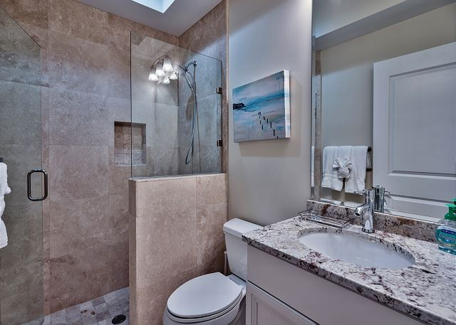Third Floor Bathroom shared with Bedroom #4 and #5!