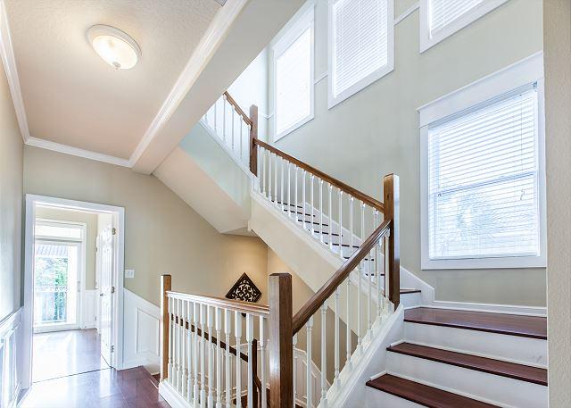 Stairwell to third floor loft