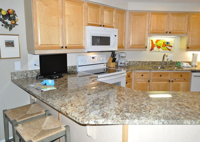 Upgraded Kitchen Countertops