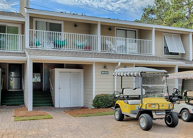Balconies With Golf Cart