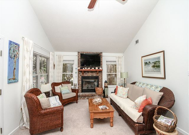 Magnolia cottage for Living room with lots of seating