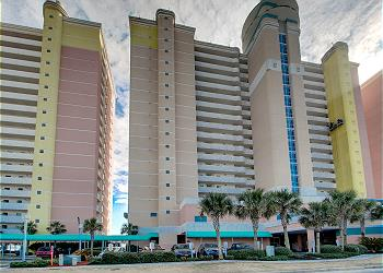Bay Watch Resort M. 1012-Oceanfront-Crescent Beach Section, a Vacation Rental in Myrtle Beach