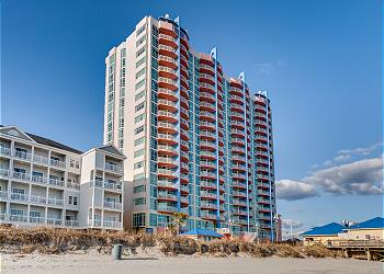 Prince Resort 1109 - Oceanfront-Cherry Grove Section, a Vacation Rental in Myrtle Beach