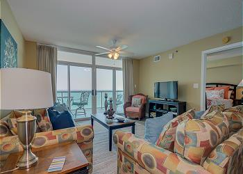 Blue Water Keyes 1203 - Oceanfront - Crescent Beach Section, a Vacation Rental in Myrtle Beach