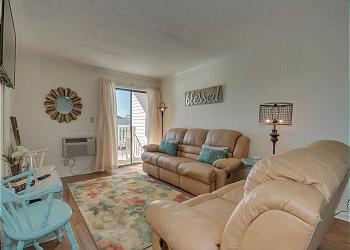 Beach Cottages A24 - 3rd Row - Cherry Grove Section, a Vacation Rental in Myrtle Beach