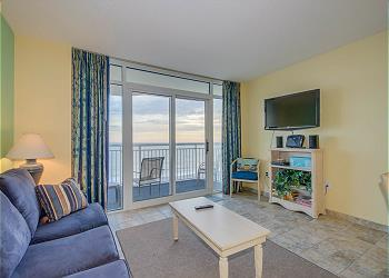 Bay Watch Resort M 822-Oceanfront-Crescent Beach, a Vacation Rental in Myrtle Beach