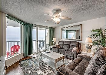 Sunrise Pointe 10F - Oceanfront - Cherry Grove Section, a Vacation Rental in Myrtle Beach