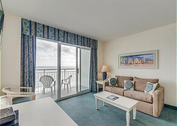 Bay Watch Resort S 939-Oceanfront-Crescent Beach, a Vacation Rental in Myrtle Beach
